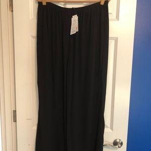 Eileen Fisher Silk Georgette Crepe Pants